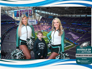 Huddle Up For Autism With The Philadelphia Eagles