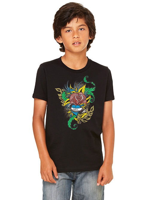 Flower Tattoo Youth Tee