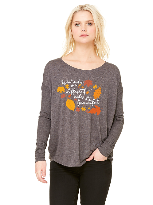 Different and Beautiful Ladies Flowy Long Sleeve