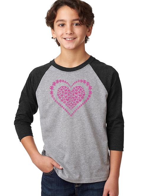 Heart Youth 3/4 Raglan