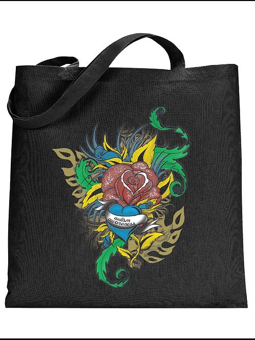 Flower Tattoo Tote Bag