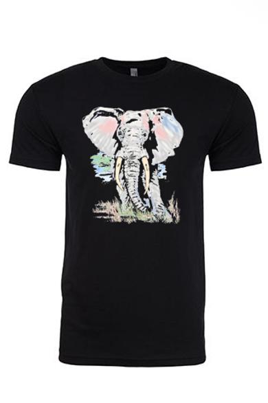 Unisex Elephant with Autism Colors Tee