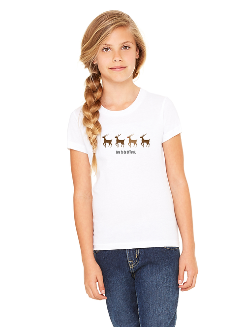 Rudolph, Dare To Be Different Unisex Youth Tee