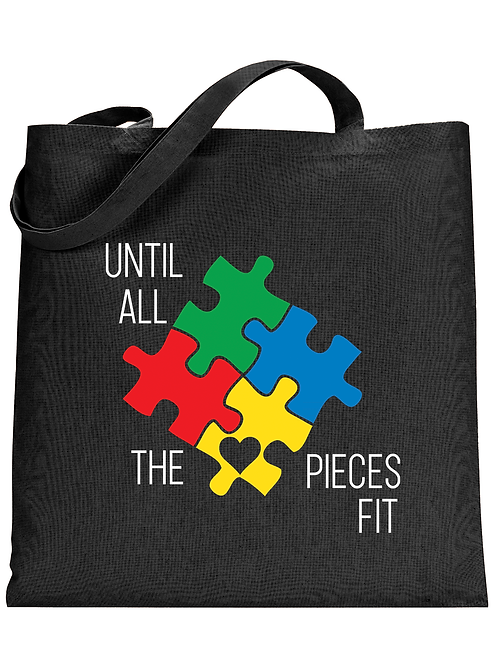 All The Pieces Fit Tote Bag