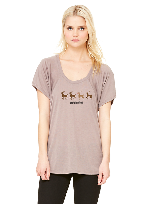 Rudolph Dare To Be Different Women Tee