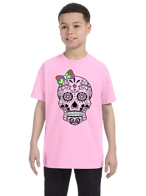 Bow Skull Youth Tee