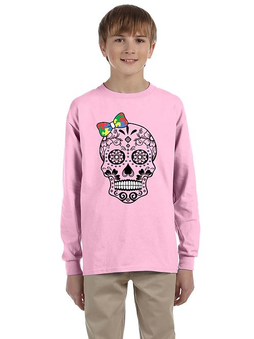 Bow Skull Youth L/S