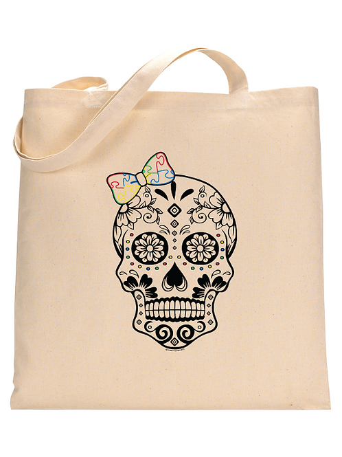 GirlieSkull Tote Bag