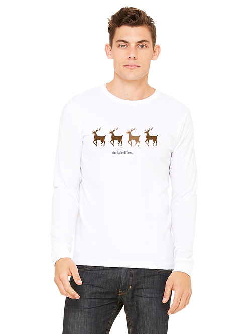 Rudolph, Dare To Be Different Unisex L/S