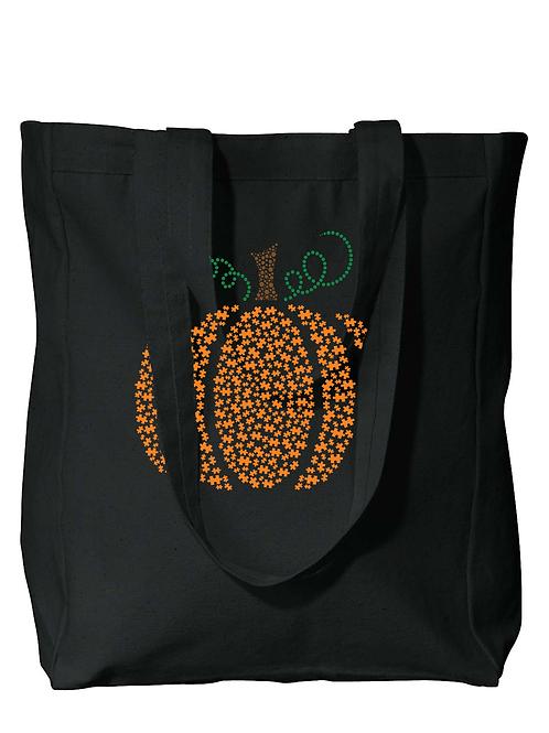 Pumpkin Autism Awareness Tote Bag