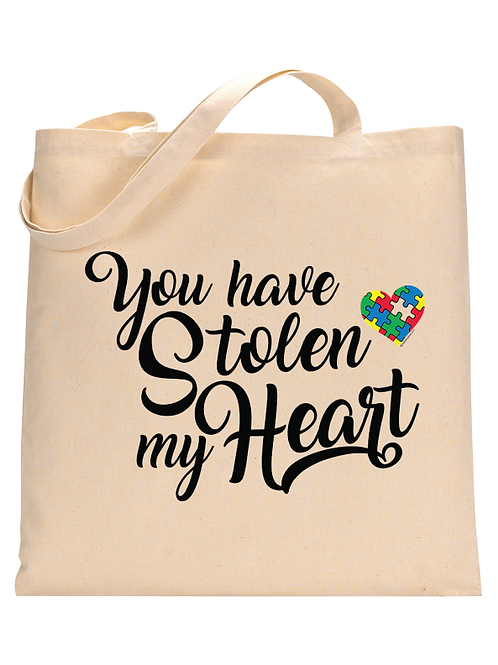 Stolen my Heart Tote Bag