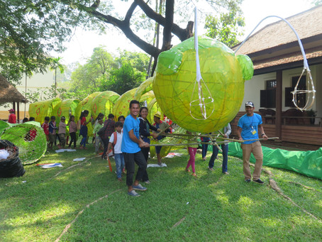 CKS Participates in Siem Reap Giant Puppet Project