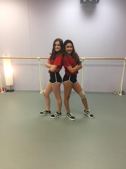 Jocelyn and Rachel