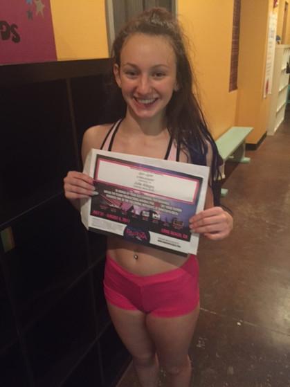 Scholarship winner- Julie Allegro