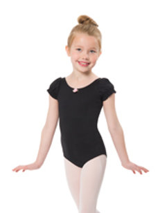 Girls Puffy Sleeve Leo