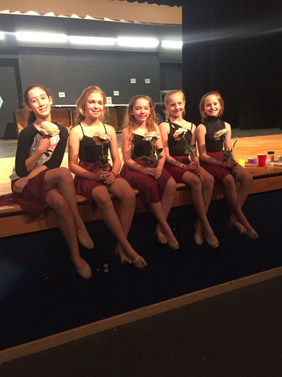 Rosette Spring show practice