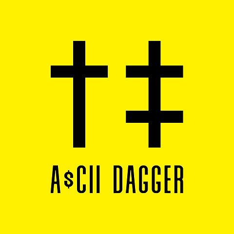 A$CII DAGGER - Logo