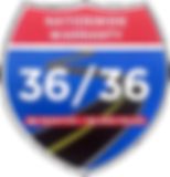 Three Year Thirty Six Thousand Mile Warranty Badge