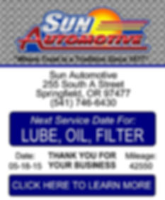Lube, Oil, and Filter Coupon for Subaru and Volvo Auto Repair