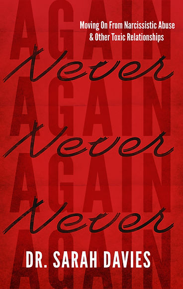 Never Again | Narcissistic Abuse | Book