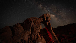 ELEPHANT ROCK AND THE MILKY WAY
