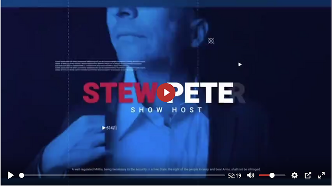 STEW PETERS: INTERVIEW WITH DR. DAVID MARTIN WHERE HE MAKES EXPLOSIVE CLAIMS OF 'PATENTED GENOCIDE'