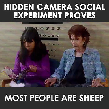 Most people are Sheep