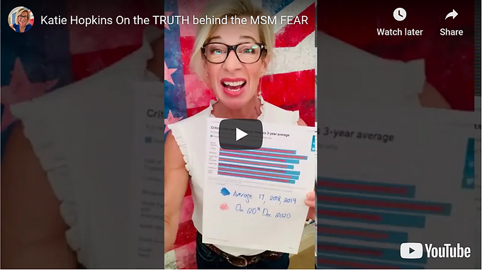 Katie Hopkins On the TRUTH behind the MSM FEAR