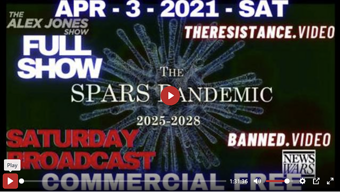EMERGENCY SATURDAY BROADCAST: WORLD SHOCKED BY SPARS 2025-2028 DOCUMENT