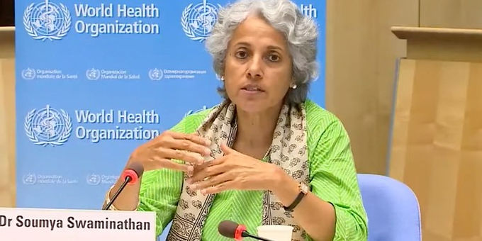 Indian Bar Association serves legal notice upon Dr. Soumya Swaminathan, the Chief Scientist, WHO