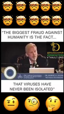 """""""The Biggest Fraud Against Humanity is the Fact that Viruses Have Never Been Isolated"""""""