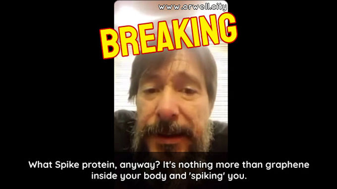 Dr. Martínez: 'The Spike protein is nothing more than graphene inside your body and spiking you'