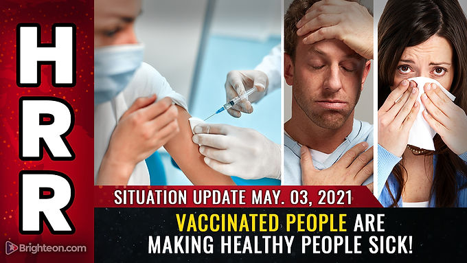 EXTERMINATION machine unmasked: Why vaccinated people are making HEALTHY people sick