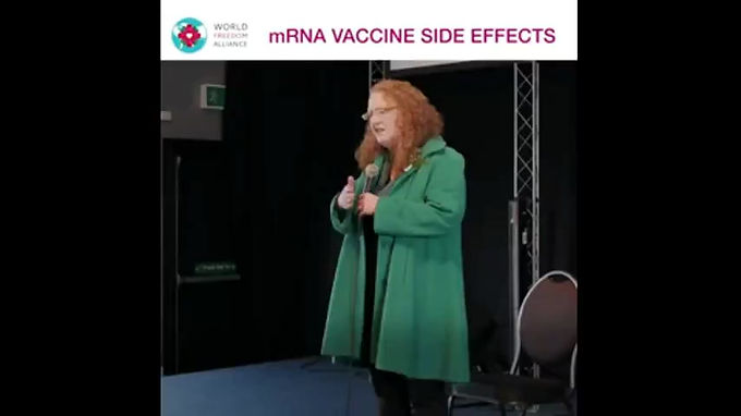 IRISH PROFESSOR DOLORES CAHILL ON COVID-19 'VACCINE'. LIFE EXPECTANCY IS MAYBE ONLY A FEW YEARS