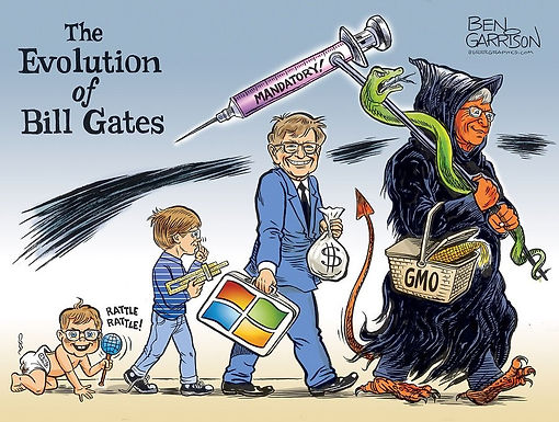 Bill Gates on Track to Grow His Fortune Through Foundation's Ties to Vaccine Makers