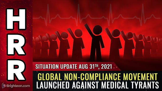 The resistance begins NOW: Global non-compliance movement launched against medical tyranny
