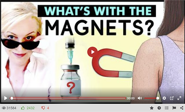 MAGNETIC NANOMATERIALS IN THE INJECTIONS, MASKS & SWABS