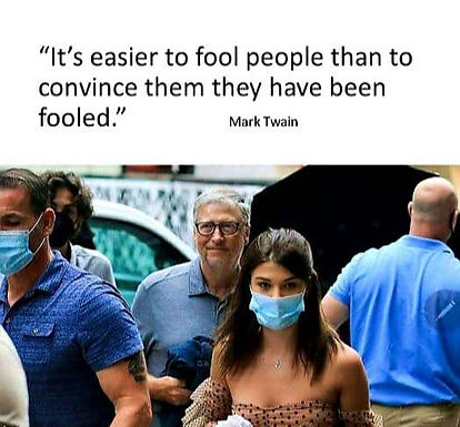 """""""It's esier to fool people thn to convince them they have been fooled."""""""