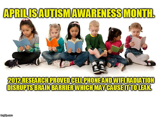 """Autism Research Shows Links to EMF, Cell Phone and Wireless """"WiFi"""" Radiation Exposure"""