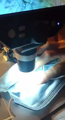 Morgellons/Self Replicating Nanotechnology Bio-Warfare found inside Masks under the Microscope