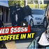 Man arrested and fined $5k for drinking coffee without mask