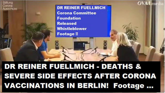 DEATHS & SEVERE SIDE EFFECTS AFTER CORONA VACCINATIONS IN BERLIN! FOOTAGE ...
