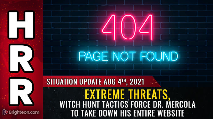 JOURNO-TERRORISM strikes again: Extreme threats, witch hunt tactics force Dr. Mercola to take down h