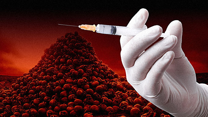 """The coronavirus vaccine is the """"final solution"""" depopulation weapon against humanity"""
