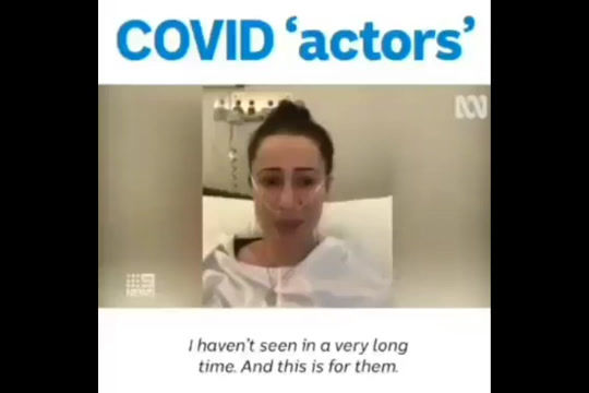 COVID Actors Busted!
