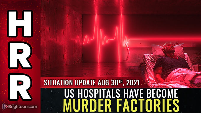 Under covid tyranny, US hospitals have become MURDER FACTORIES where ivermectin is forbidden because