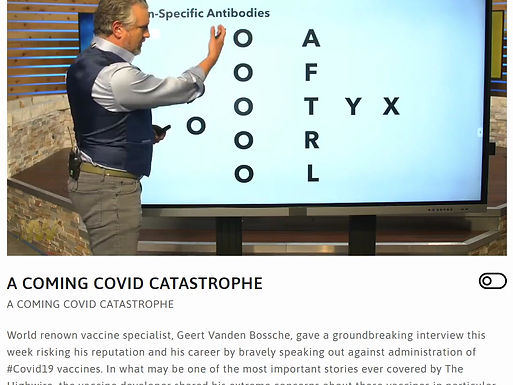A COMING COVID CATASTROPHE