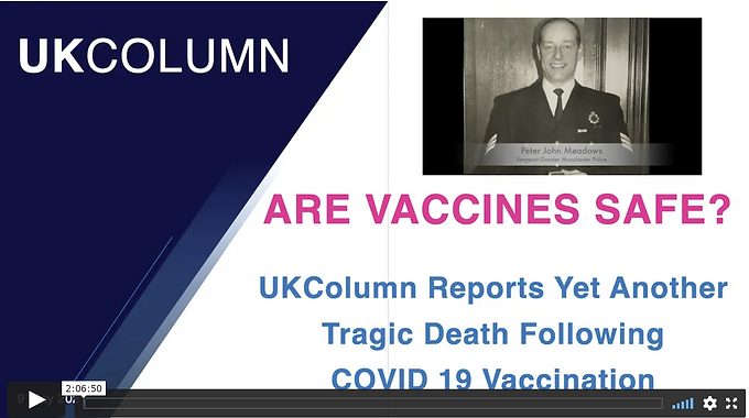 A Good Man Down: The Fatal Reality of Vaccine Adverse Reactions