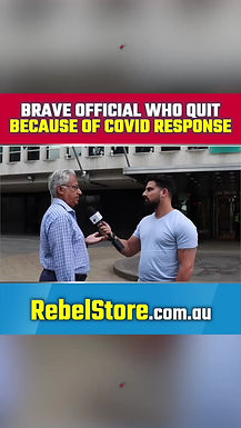 Brave Government Official Who Quit Because of Victorian Government's COVID Response
