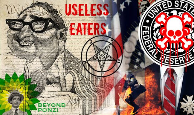 I Completely Agree with the Cabal – We MUST get rid of the 'Useless Eaters'!